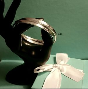 Tiffany & Co. Interlocking Bangle Bracelets